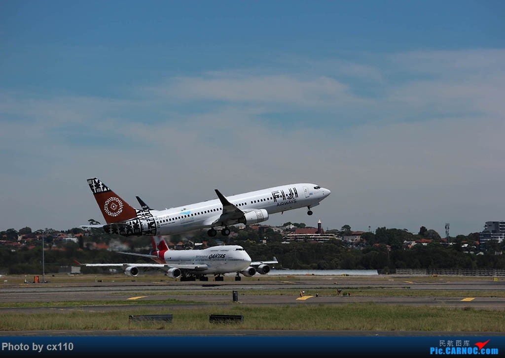 Re:[原创]悉尼机场中场拍机(微单不够用了~~~o(╥﹏╥)o) BOEING 737-800 DQ-FJN