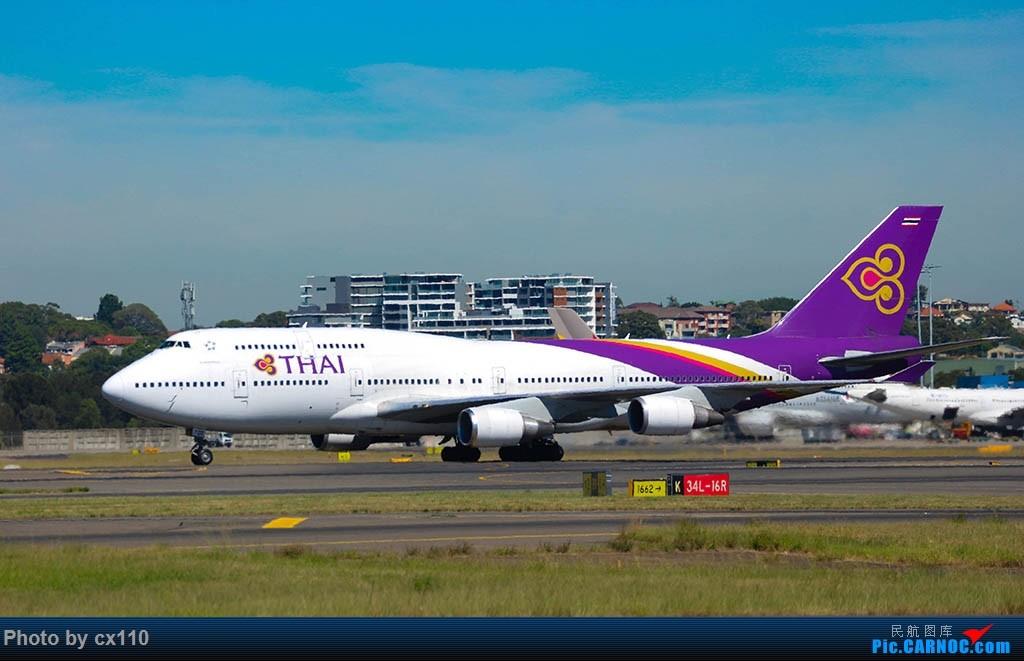 Re:[原创]悉尼机场中场拍机(微单不够用了~~~o(╥﹏╥)o) BOEING 747-400 HS-TGB