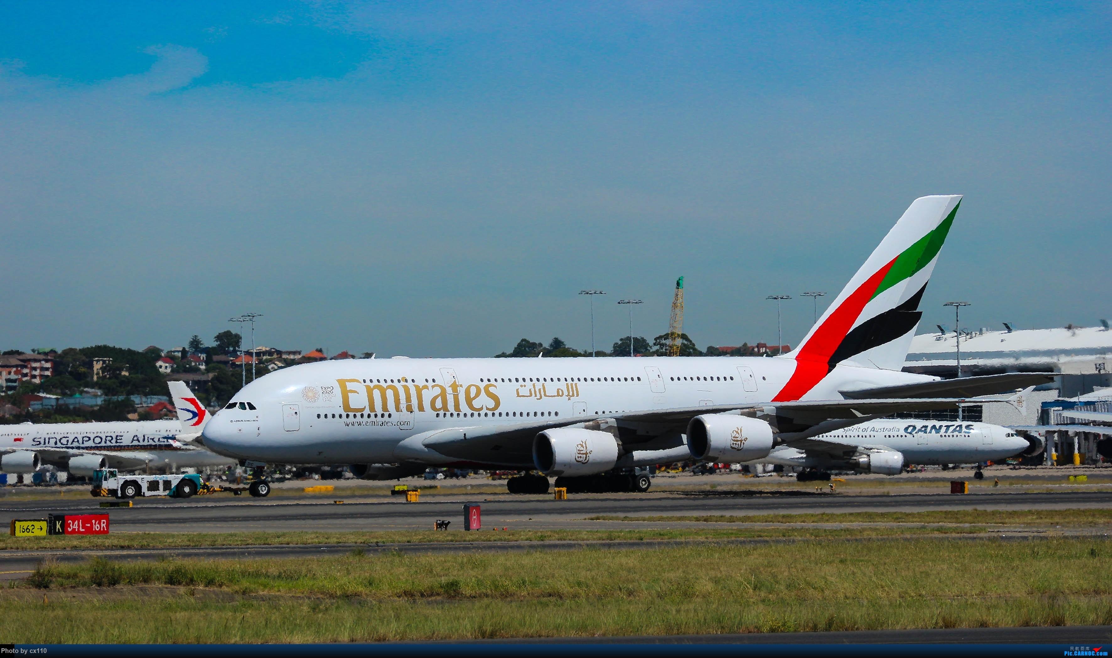 Re:[原创]悉尼机场中场拍机(微单不够用了~~~o(╥﹏╥)o) AIRBUS A380-800 A6-EDC