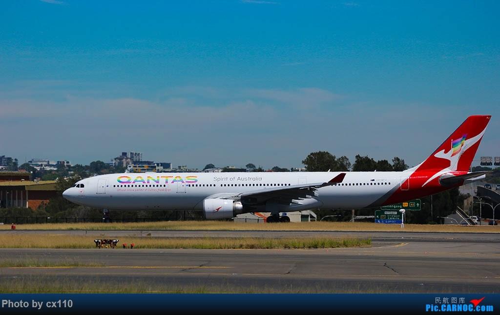Re:[原创]悉尼机场中场拍机(微单不够用了~~~o(╥﹏╥)o) AIRBUS A330-300 VH-QPJ 澳大利亚悉尼金斯福德·史密斯机场