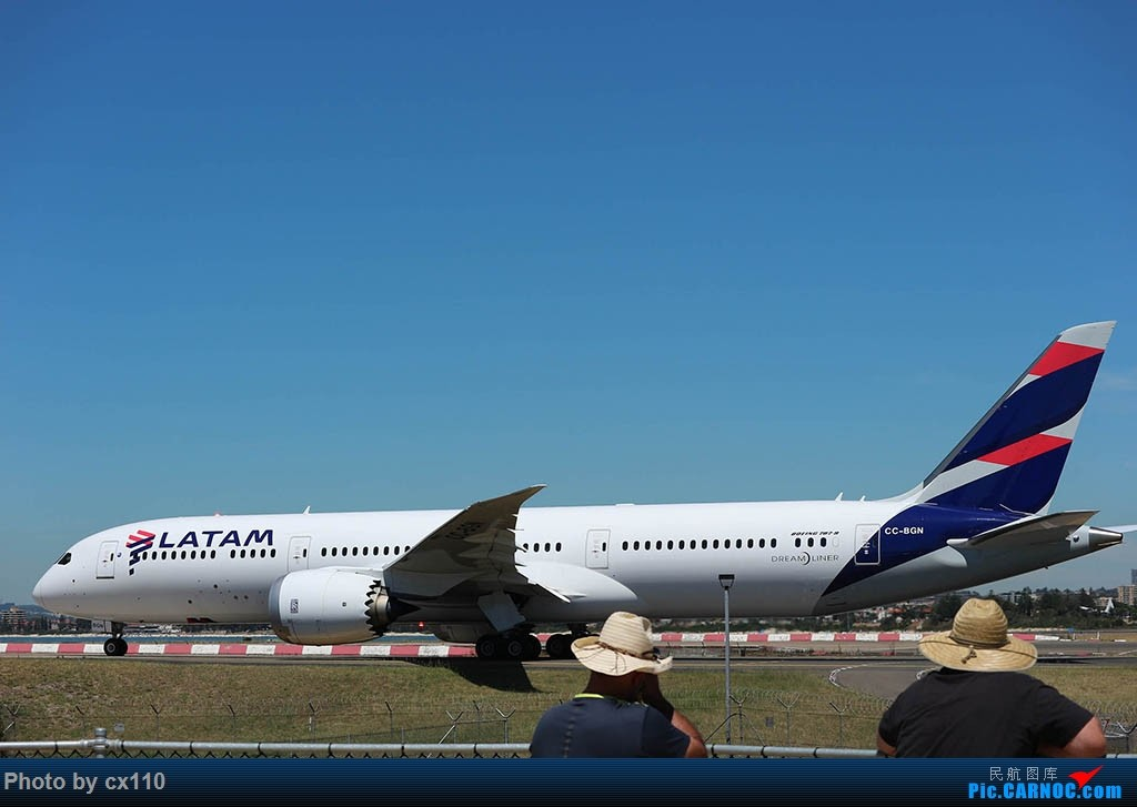 Re:[原创]悉尼机场中场拍机(微单不够用了~~~o(╥﹏╥)o) BOEING 787-9 CC-BGN