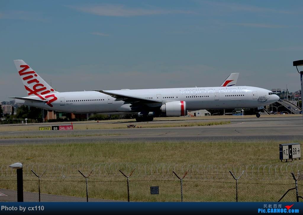 Re:[原创]悉尼机场中场拍机(微单不够用了~~~o(╥﹏╥)o) BOEING 777-300 VH-VPE