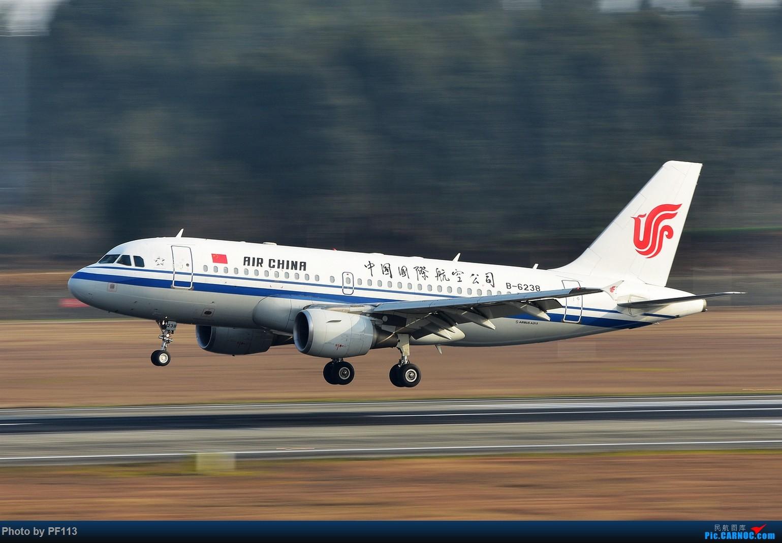 Re:[原创]CTU二跑道.着陆.3 AIRBUS A319-100 B-6238 中国成都双流国际机场