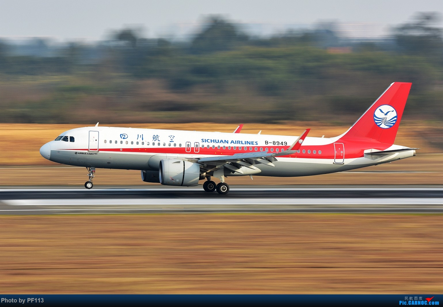 Re:[原创]CTU二跑道.着陆.3 AIRBUS A320NEO B-8949 中国成都双流国际机场