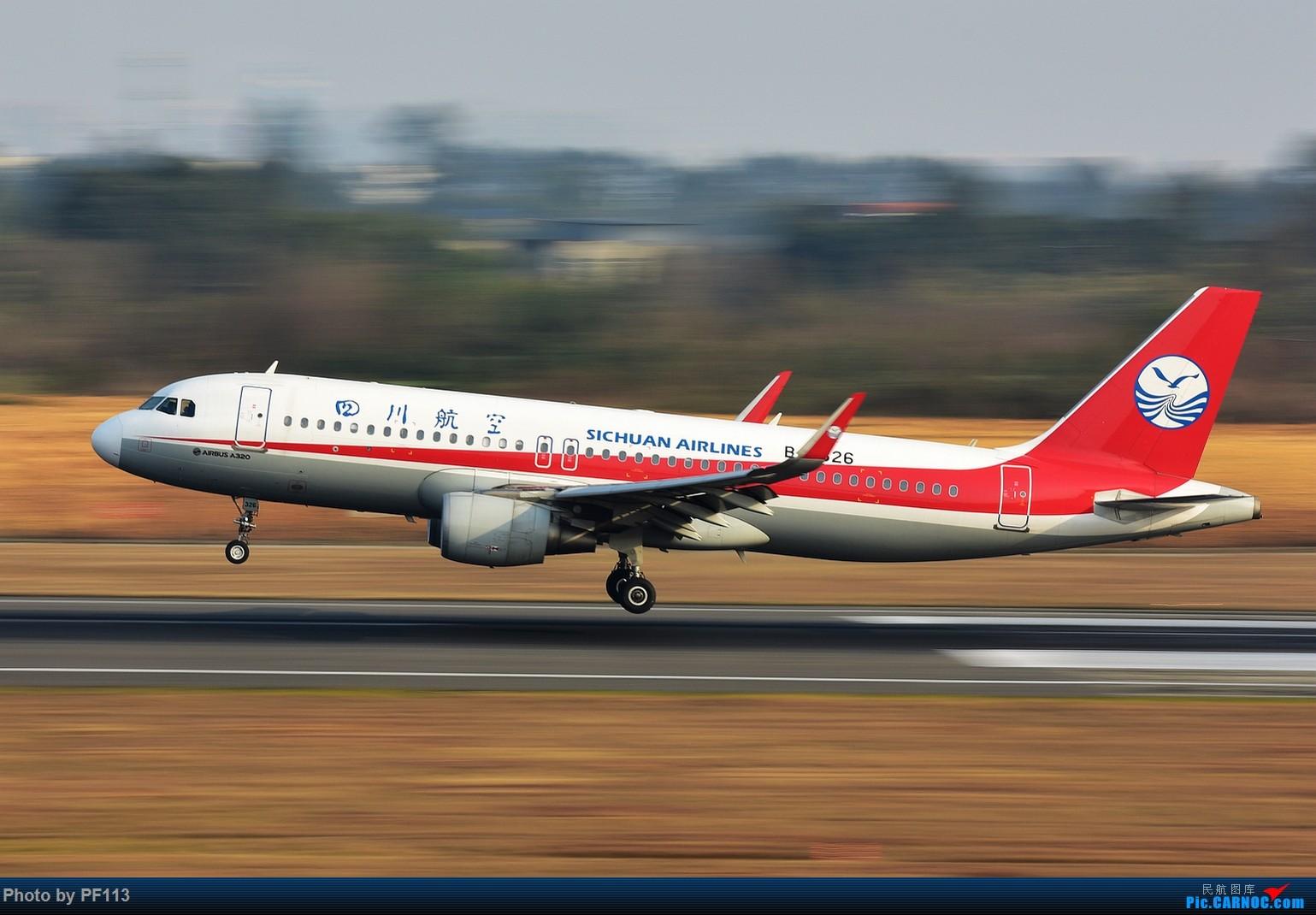 Re:[原创]CTU二跑道.着陆.3 AIRBUS A320-200 B-8326 中国成都双流国际机场