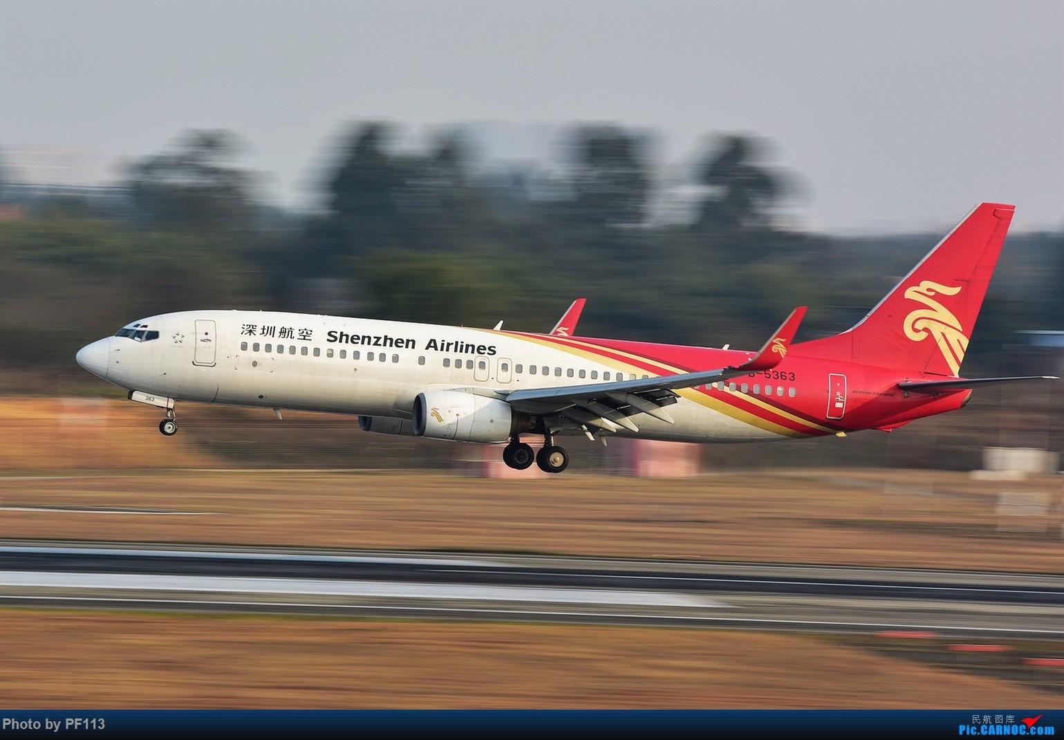 Re:[原创]CTU二跑道.着陆.3 BOEING 737-800 B-5363 中国成都双流国际机场