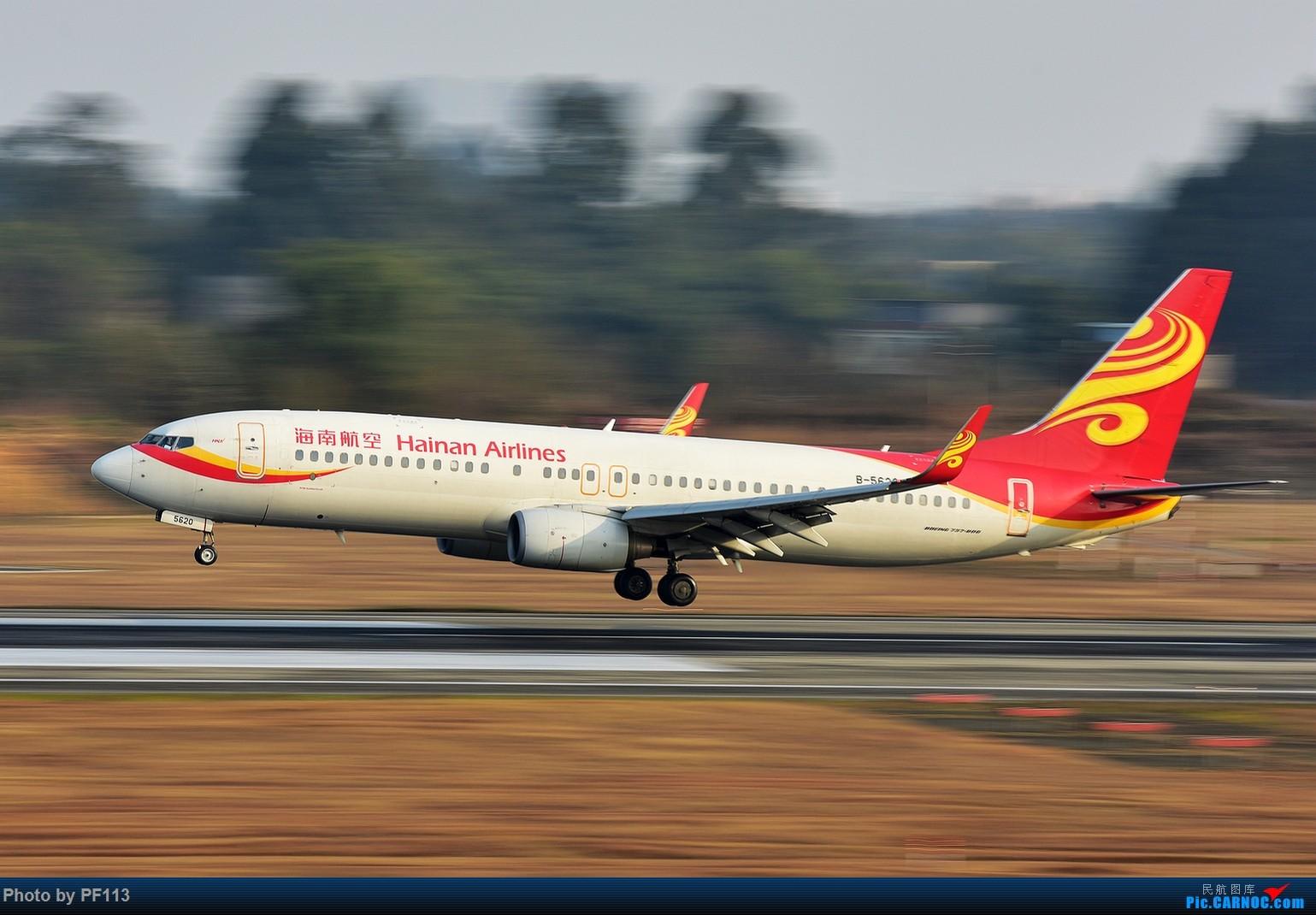 Re:[原创]CTU二跑道.着陆.3 BOEING 737-800 B-5620 中国成都双流国际机场
