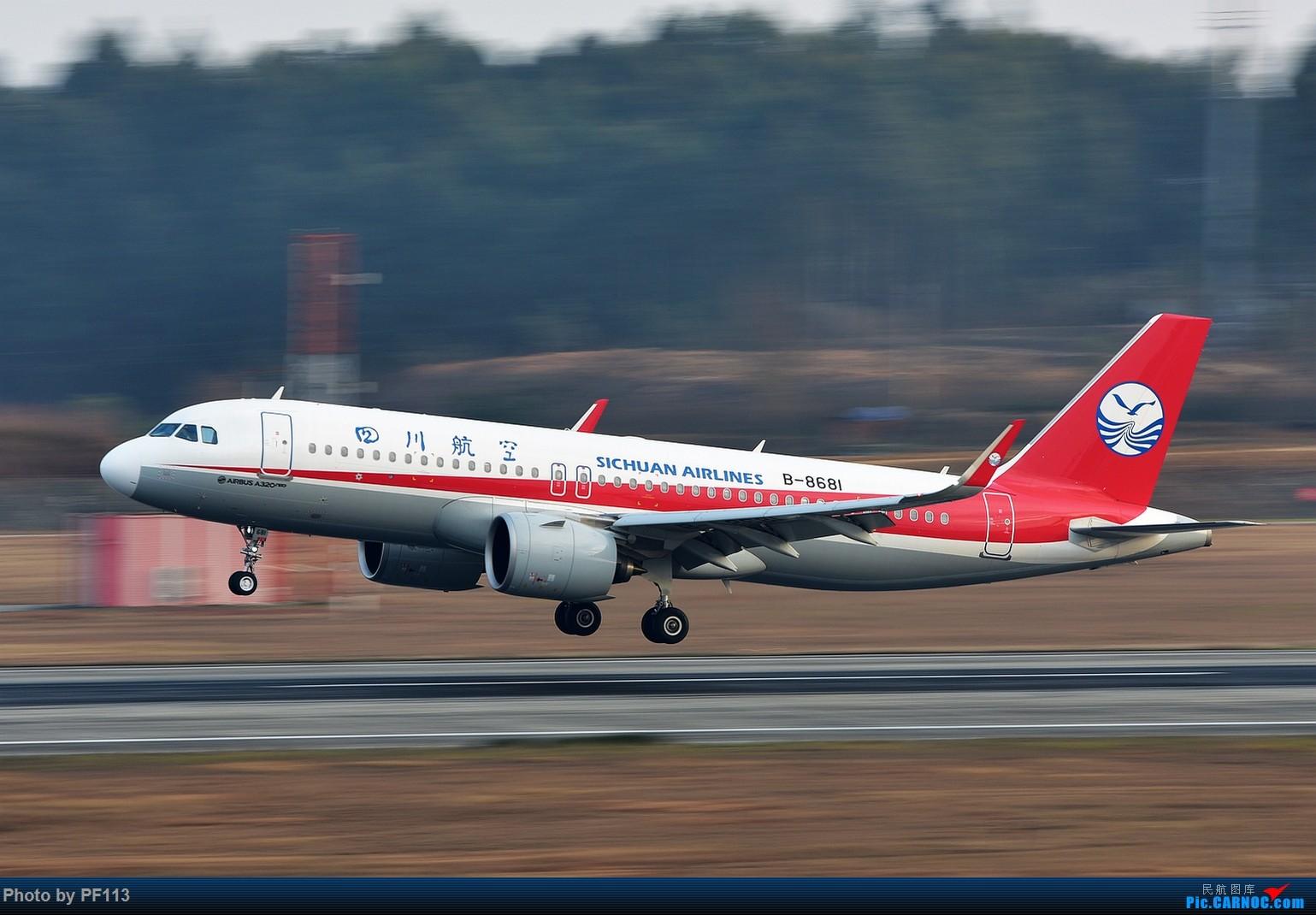 Re:[原创]CTU二跑道.着陆.3 AIRBUS A320NEO B-8681 中国成都双流国际机场