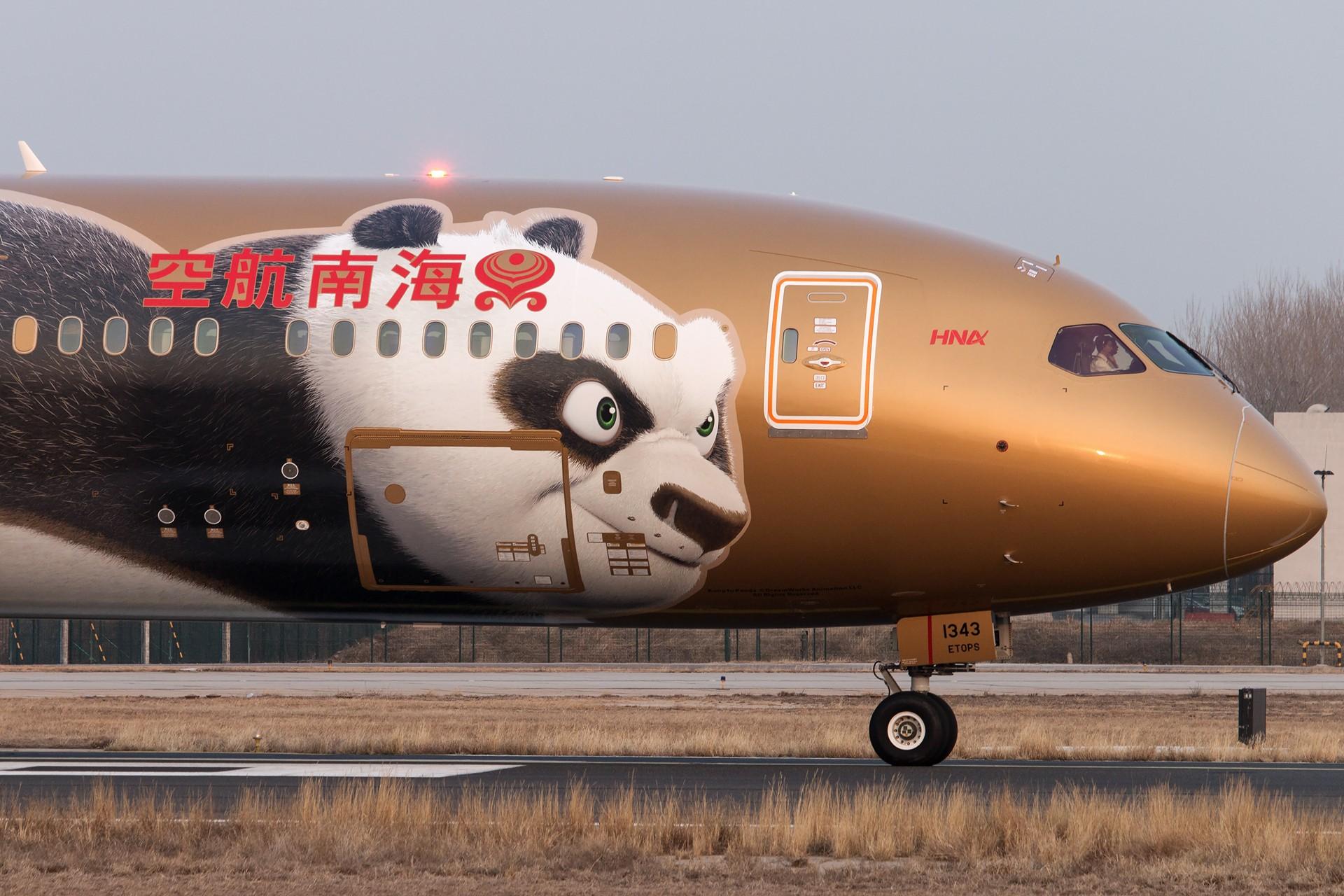 Re:[原创]金熊猫两张 BOEING 787-9 B-1343 中国北京首都国际机场