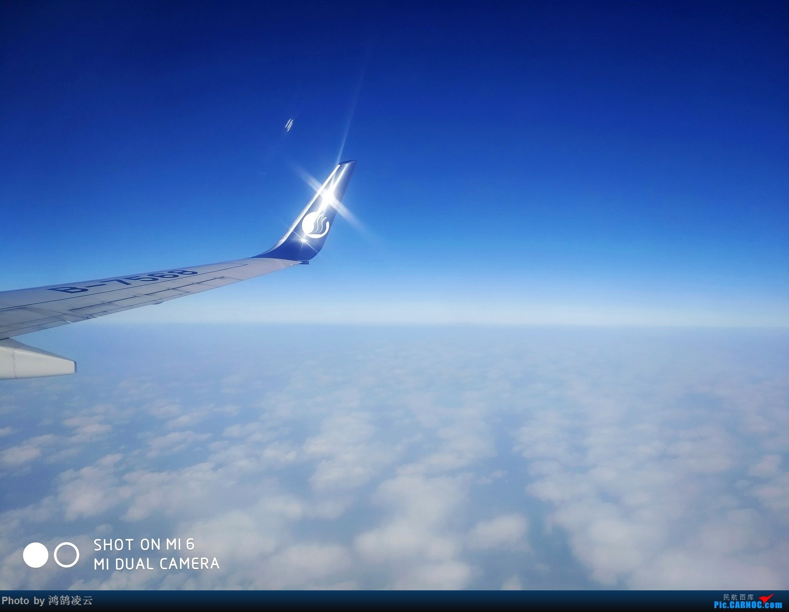 Re:[原创]飞行中手机拍照第一天