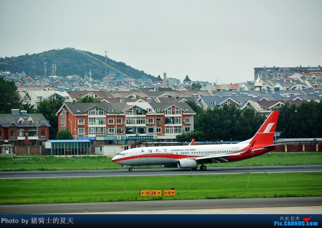 Re:[原创]2017鸡鸭图之烟大空中快线 BOEING 737-800 B-7397 中国大连国际机场