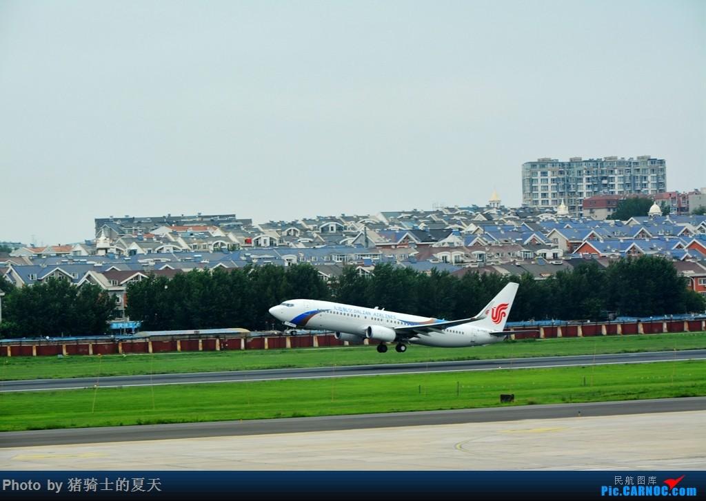 Re:[原创]2017鸡鸭图之烟大空中快线 BOEING 737-800 B-7597 中国大连国际机场