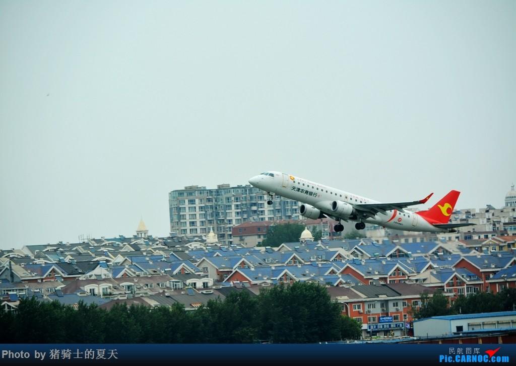 Re:[原创]2017鸡鸭图之烟大空中快线 EMBRAER E-190 B-3195 中国大连国际机场