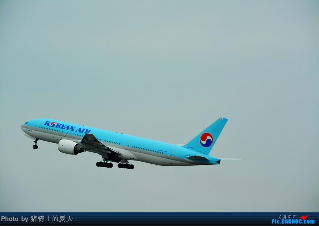 Re:[原创]2017鸡鸭图之烟大空中快线 BOEING 777-200 HL-7715