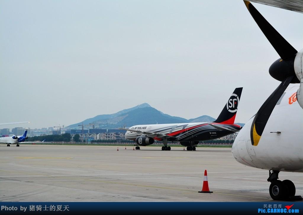Re:[原创]2017鸡鸭图之烟大空中快线 BOEING 757-200 B-1432 中国大连国际机场