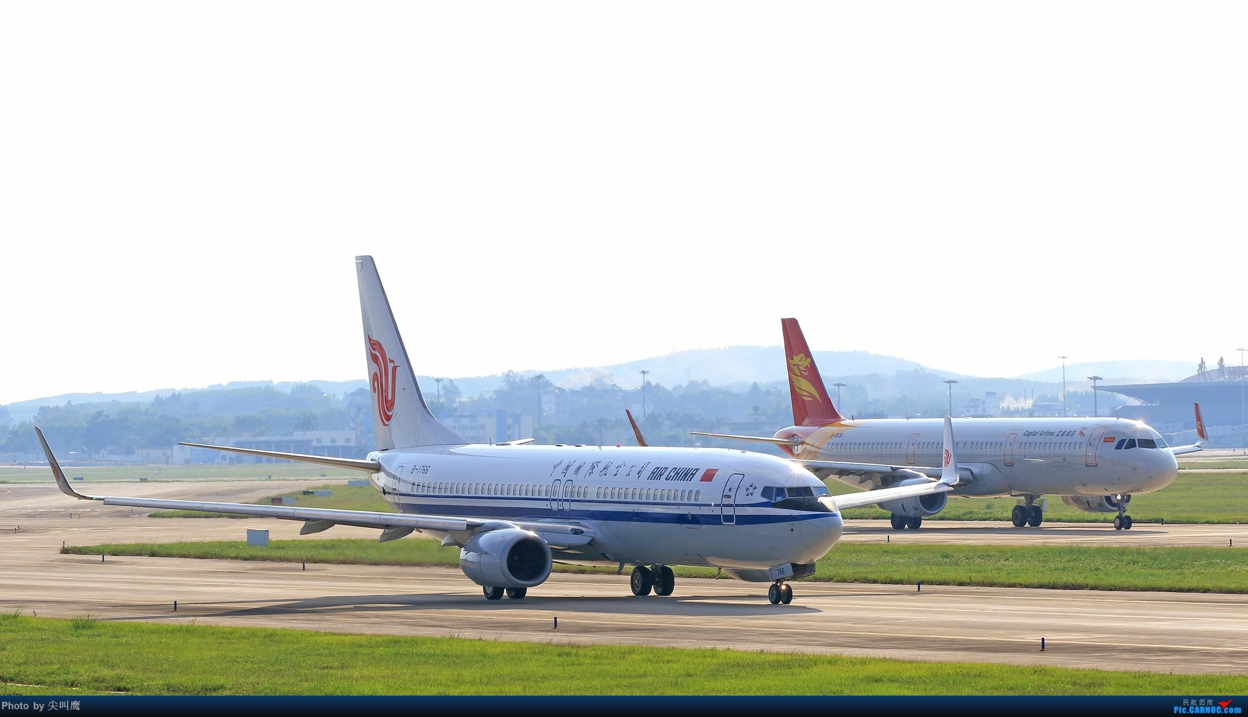 Re:[原创]NNG日常几张杂图 BOEING 737-800 B-1766 中国南宁吴圩国际机场
