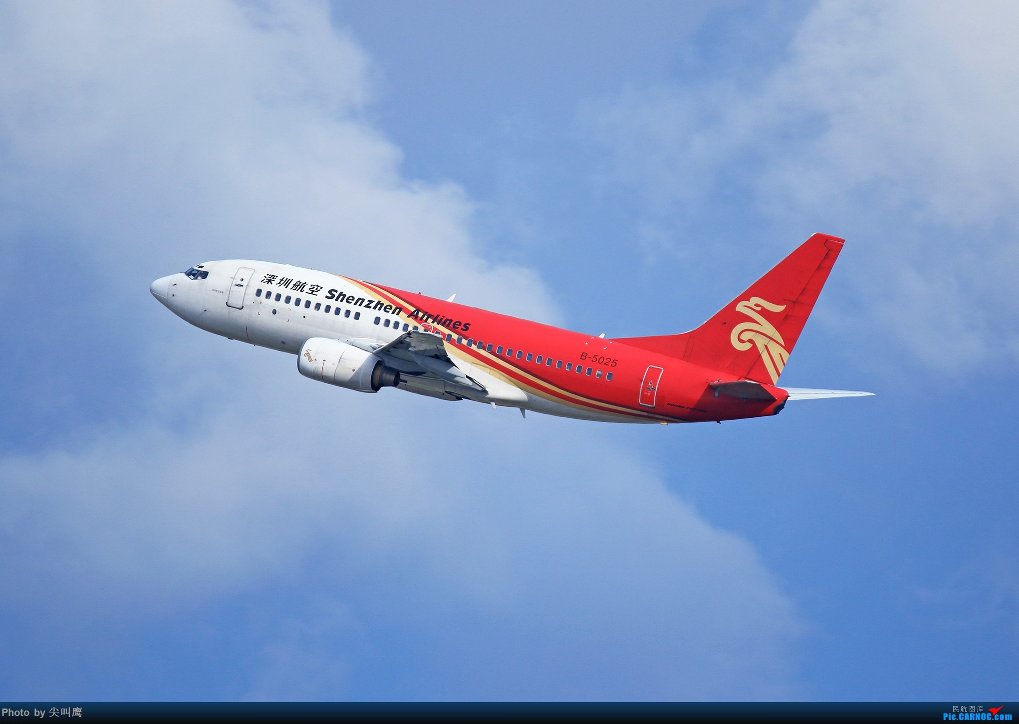 Re:[原创]NNG日常几张杂图 BOEING 737-700 B-5025 中国南宁吴圩国际机场