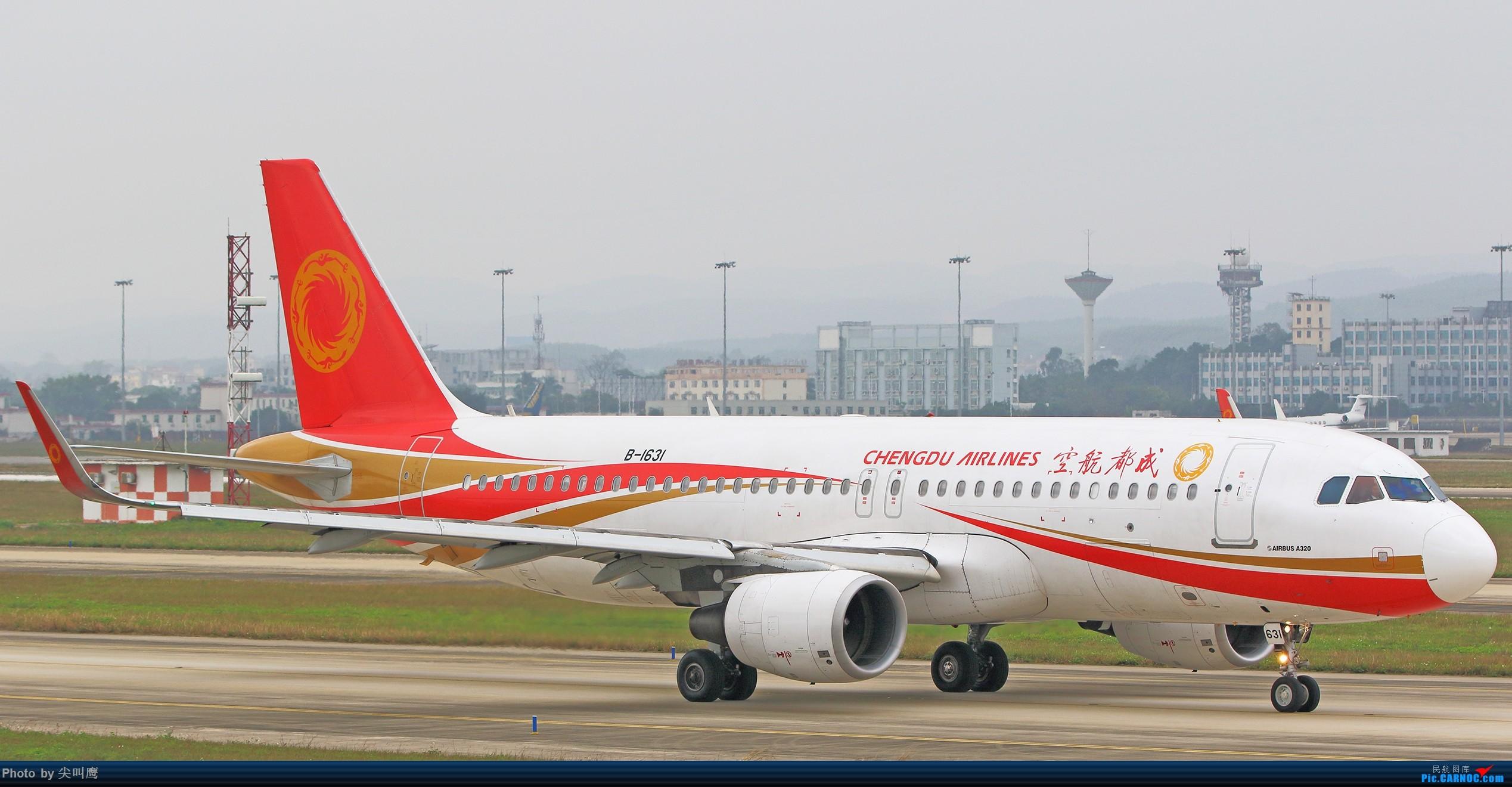 Re:[原创]NNG日常几张杂图 AIRBUS A320-200 B-1631 中国南宁吴圩国际机场