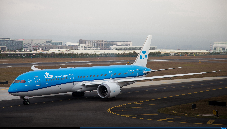 KLM Boeing 787-9 BOEING 787-9 PH-BHA 中国厦门高崎国际机场