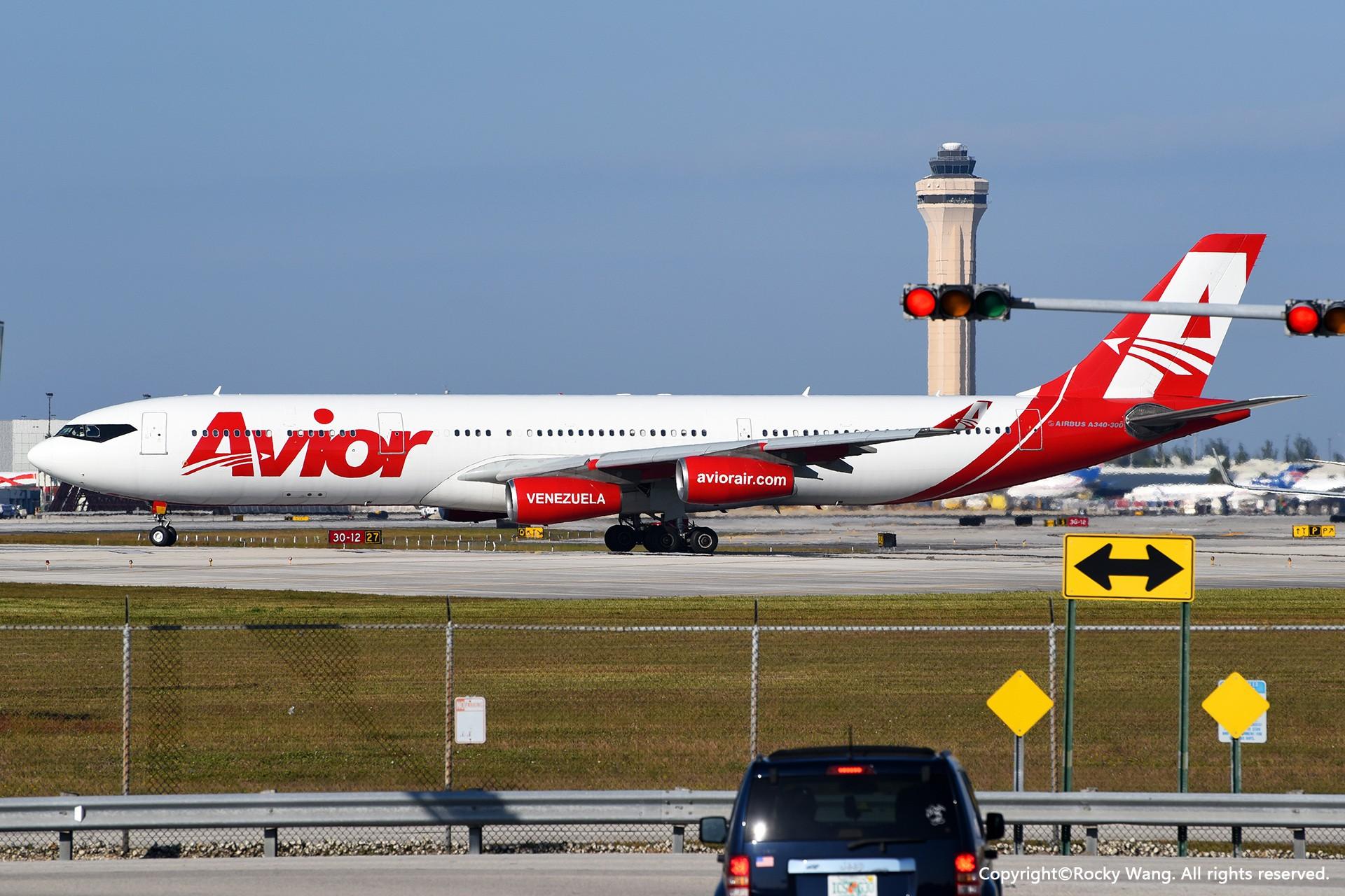 老朋友 AIRBUS A340-300 YV3292 迈阿密机场