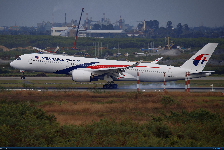 Re:降落素万那普的马航350 AIRBUS A350-900  泰国曼谷素万那普国际机场
