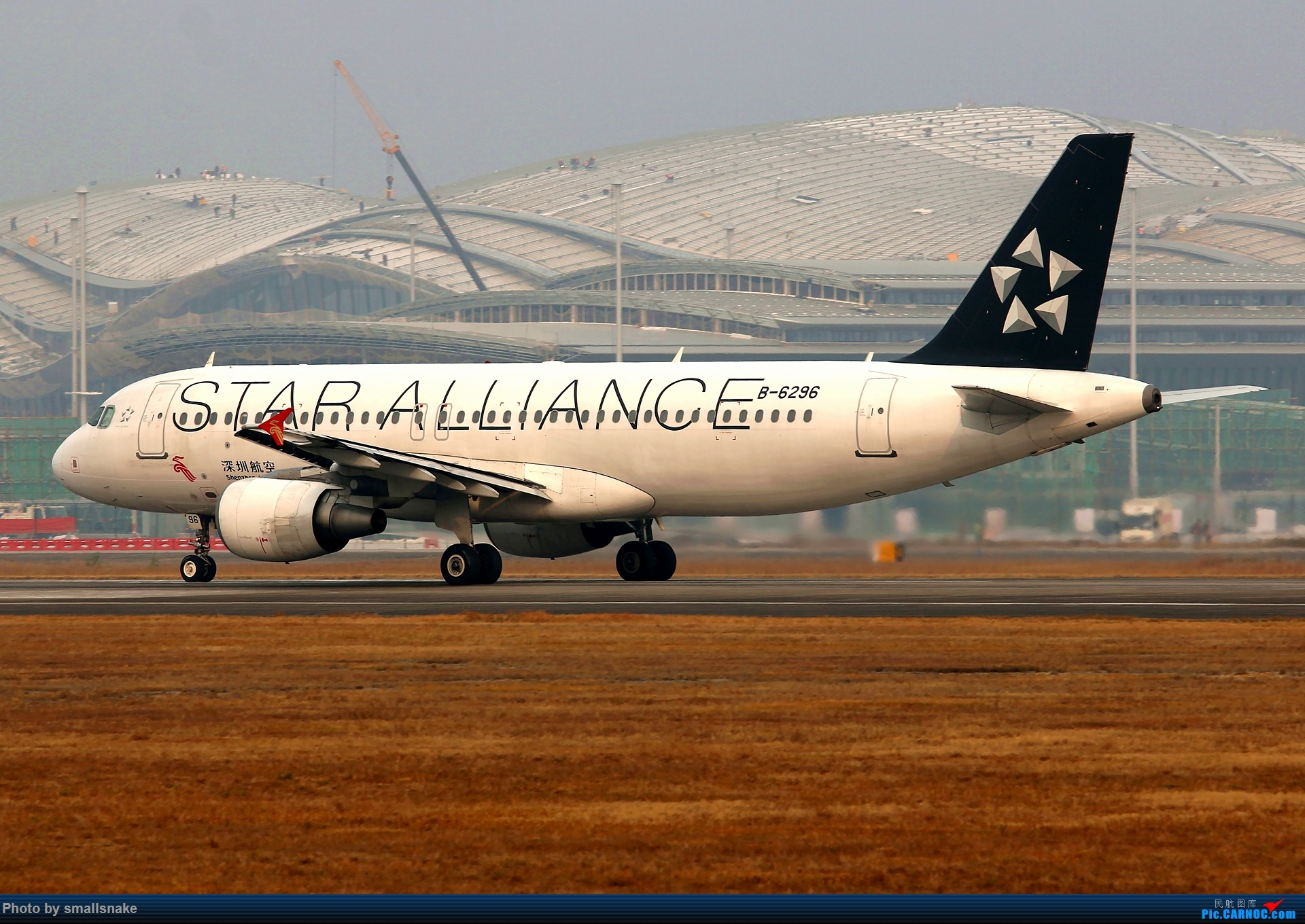 Re:[原创]桂林机场拍机... AIRBUS A320-200 B-6296 桂林两江国际机场