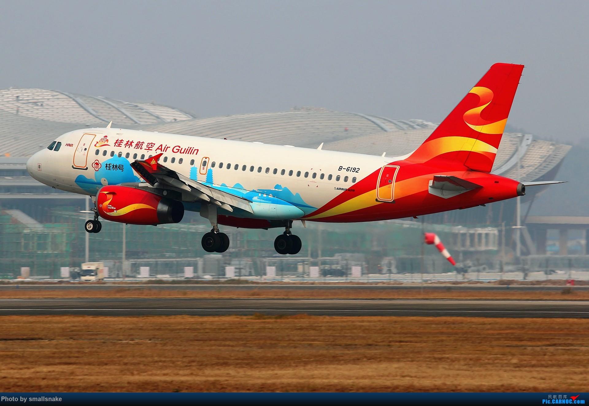 Re:[原创]桂林机场拍机... AIRBUS A319-100 B-6192 桂林两江国际机场