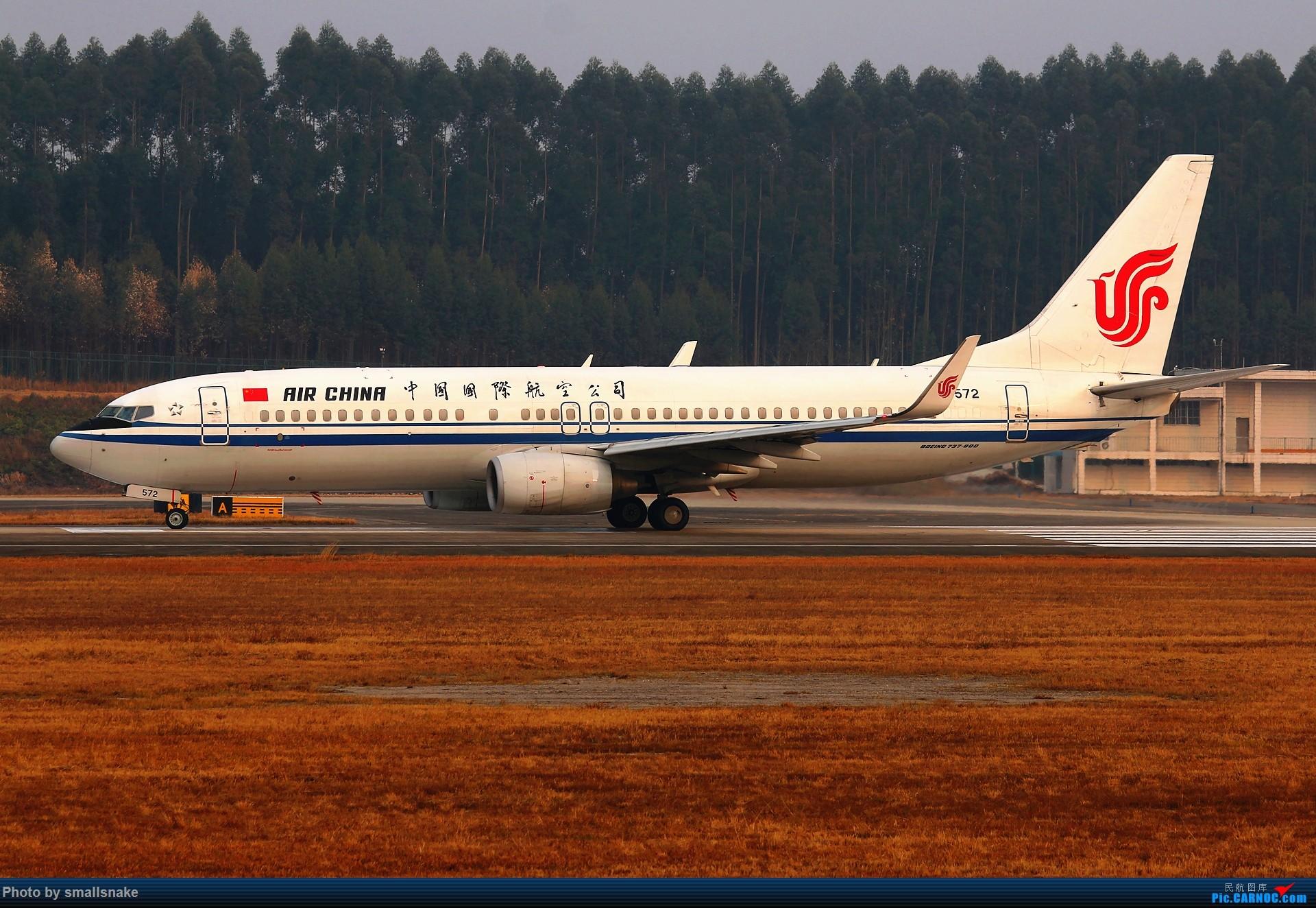Re:[原创]桂林机场拍机... BOEING 737-800 B-5572 桂林两江国际机场