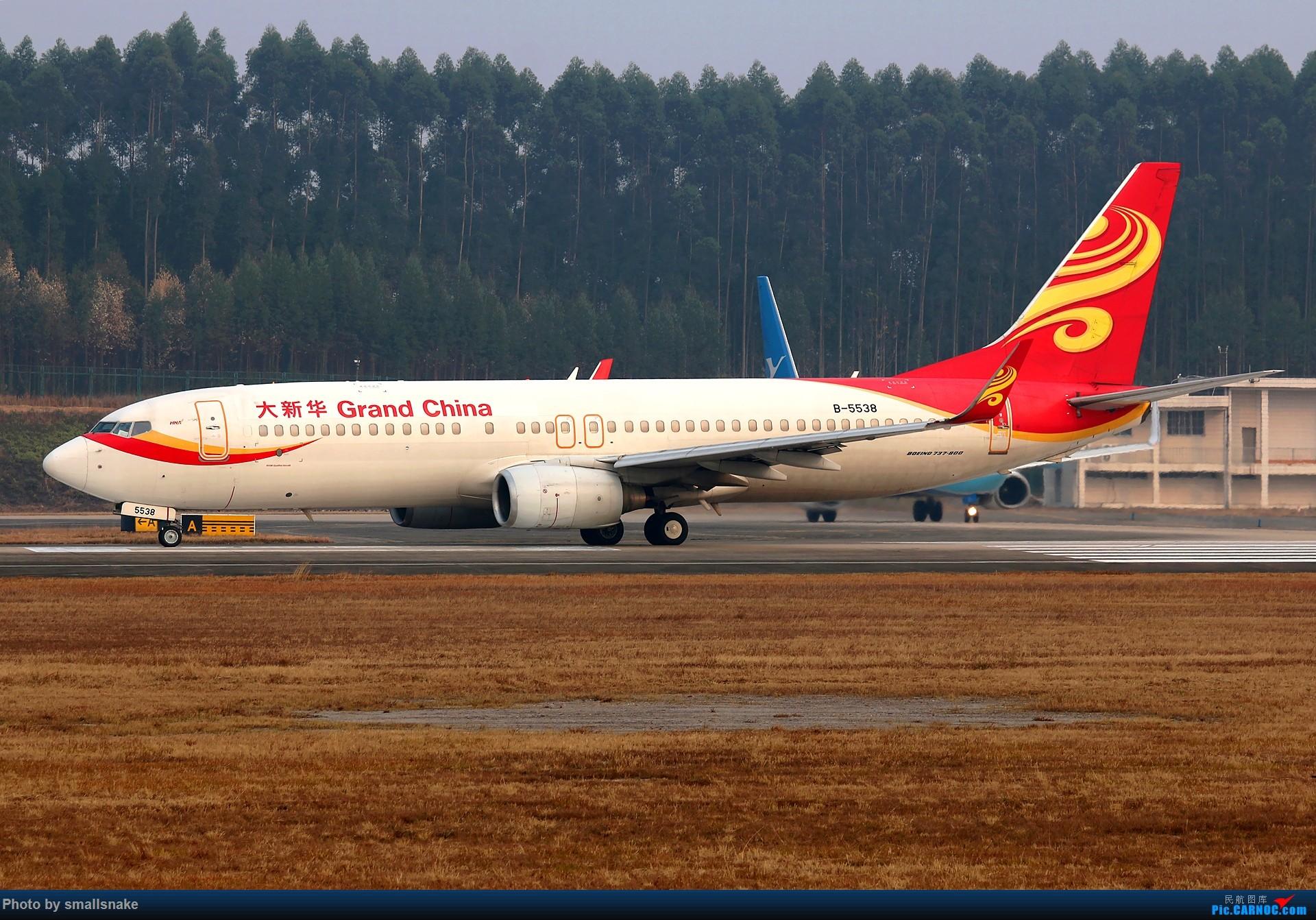 Re:[原创]桂林机场拍机... BOEING 737-800 B-5538 桂林两江国际机场