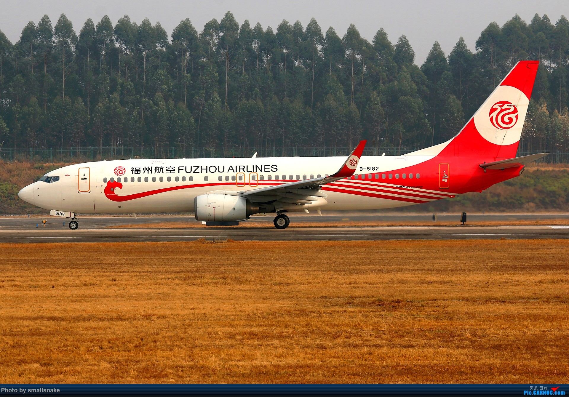 Re:[原创]桂林机场拍机... BOEING 737-800 B-5182 桂林两江国际机场