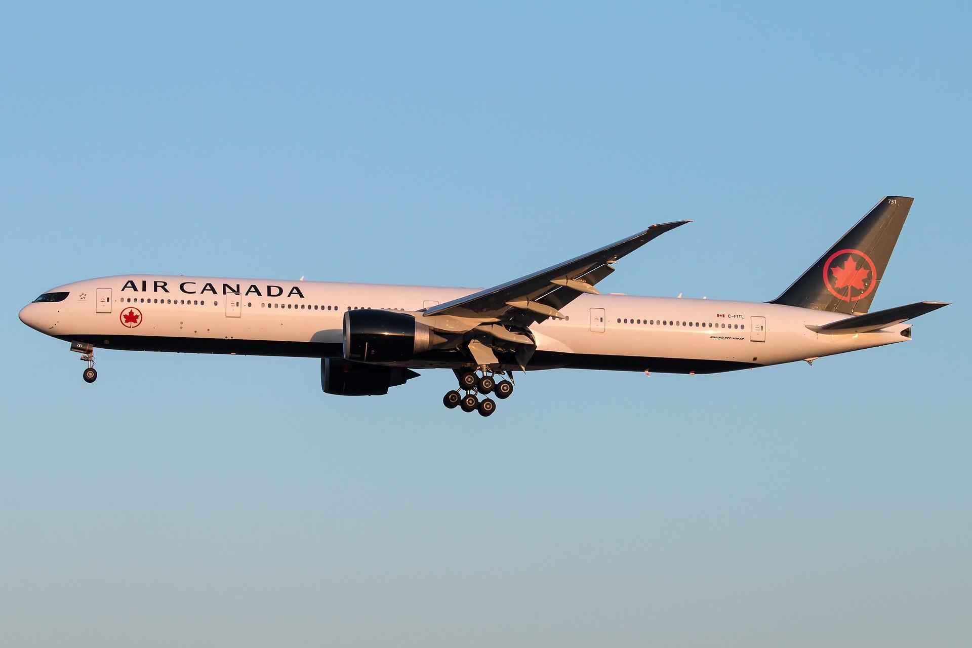 [原创][一图党]加拿大新装B777-300ER 1920*1280 BOEING 777-333(ER) C-FITL 中国北京首都国际机场