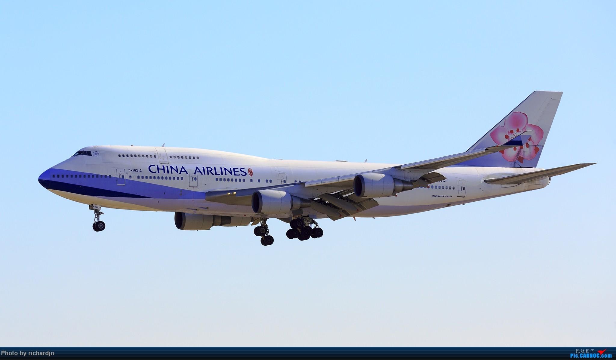 [原创]再迎接华航女王 ZBAA 01进场 BOEING 747-400 B-18212 中国北京首都国际机场