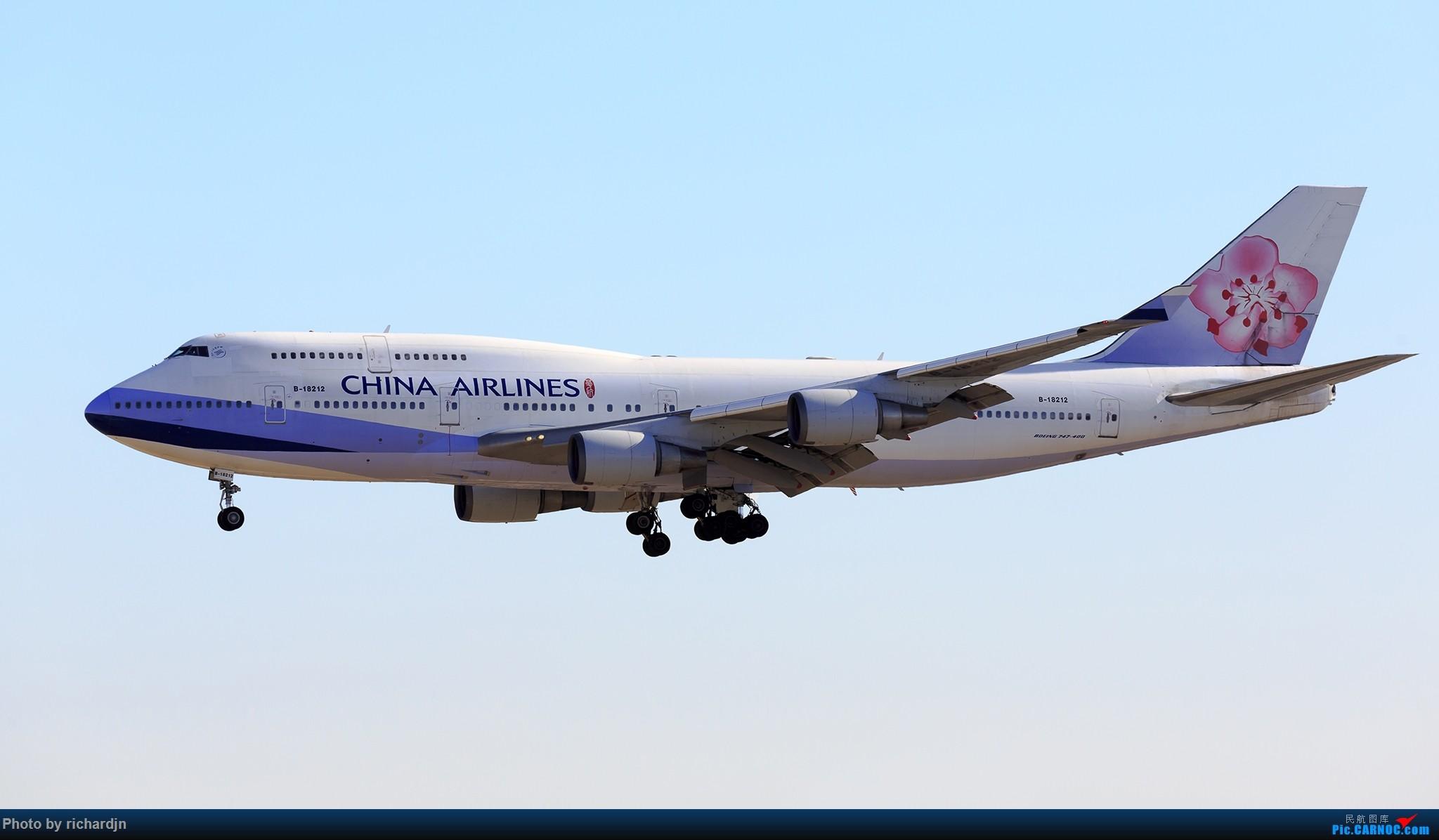 Re:[原创]再迎接华航女王 ZBAA 01进场 BOEING 747-400 B-18212 中国北京首都国际机场