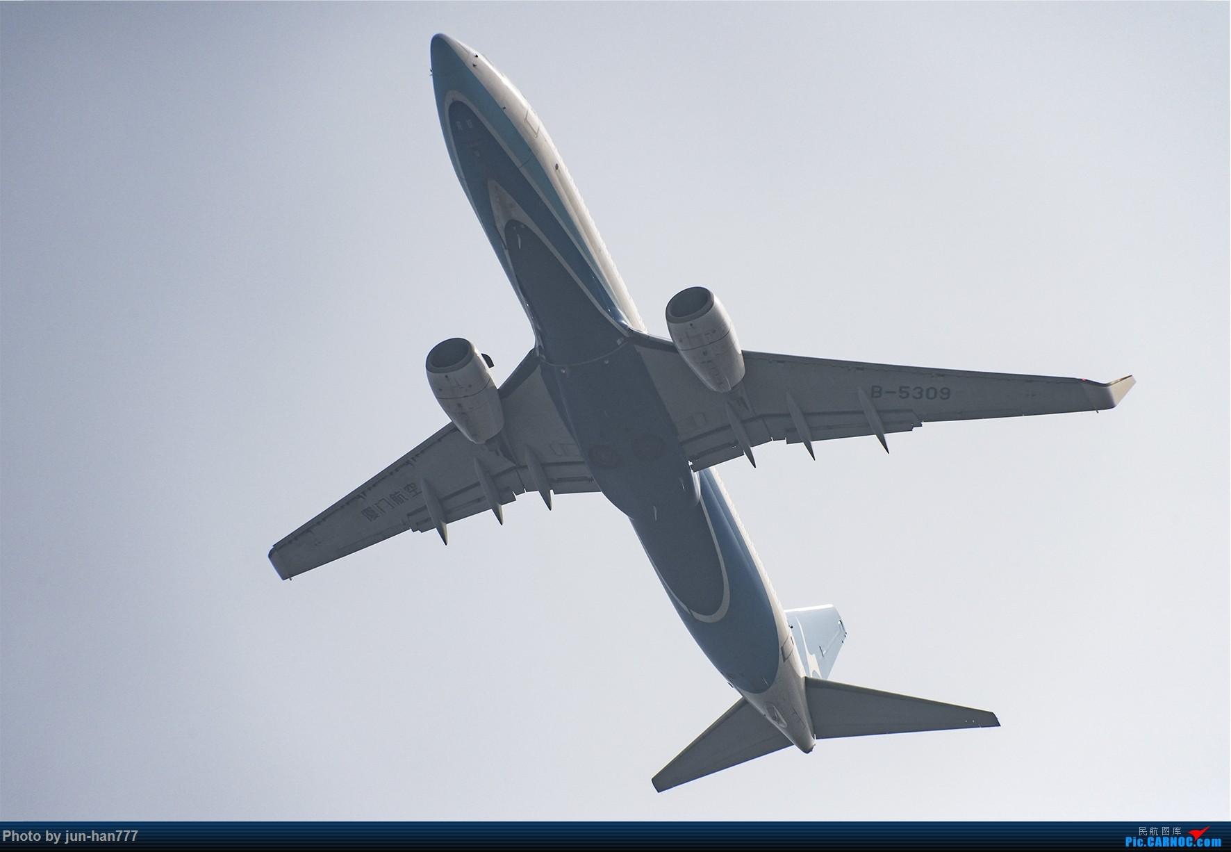 [原创]在雾霾中起飞 BOEING 737-800 B-5309