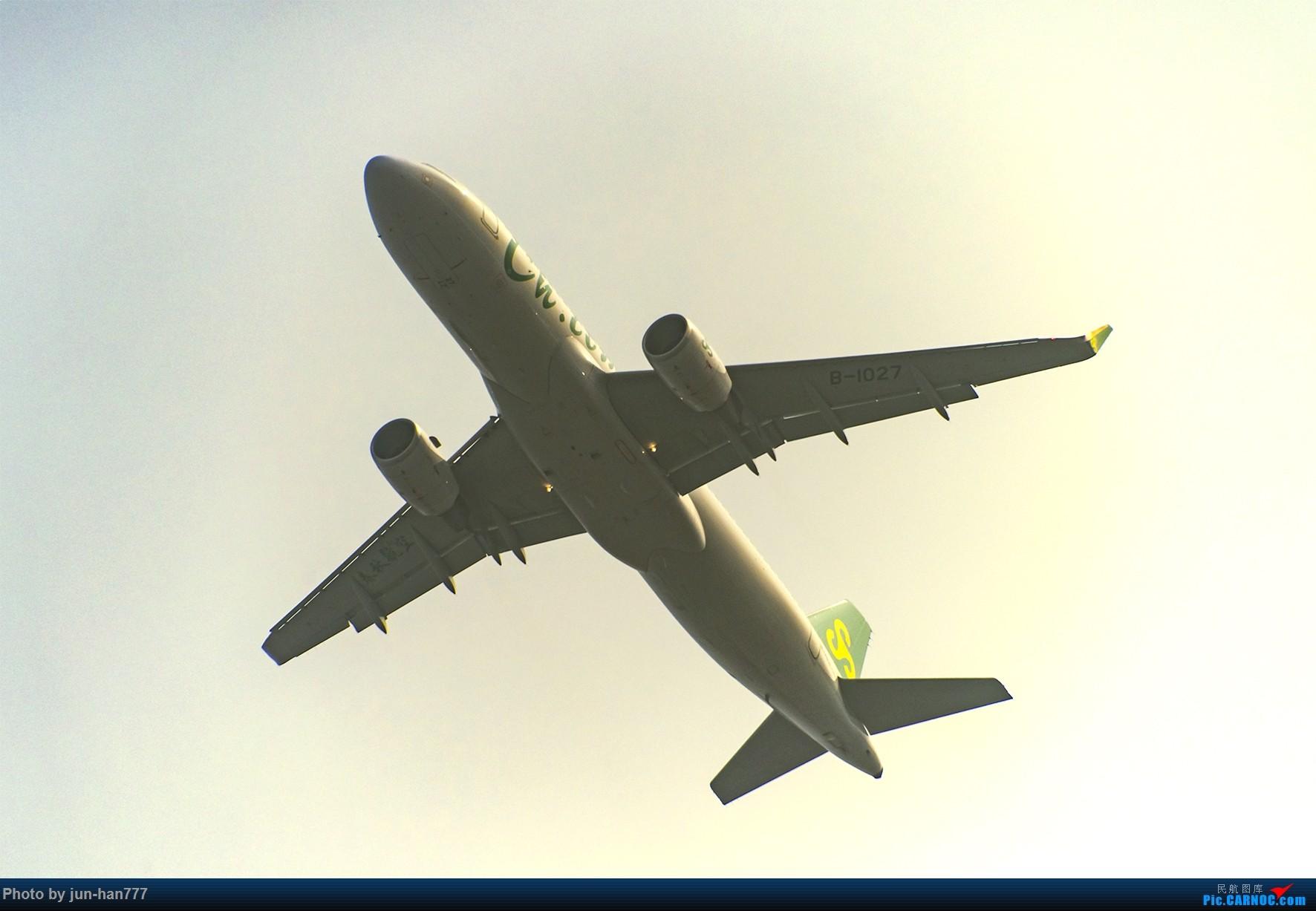 Re:[原创]在雾霾中起飞 AIRBUS A320-200 B-1027