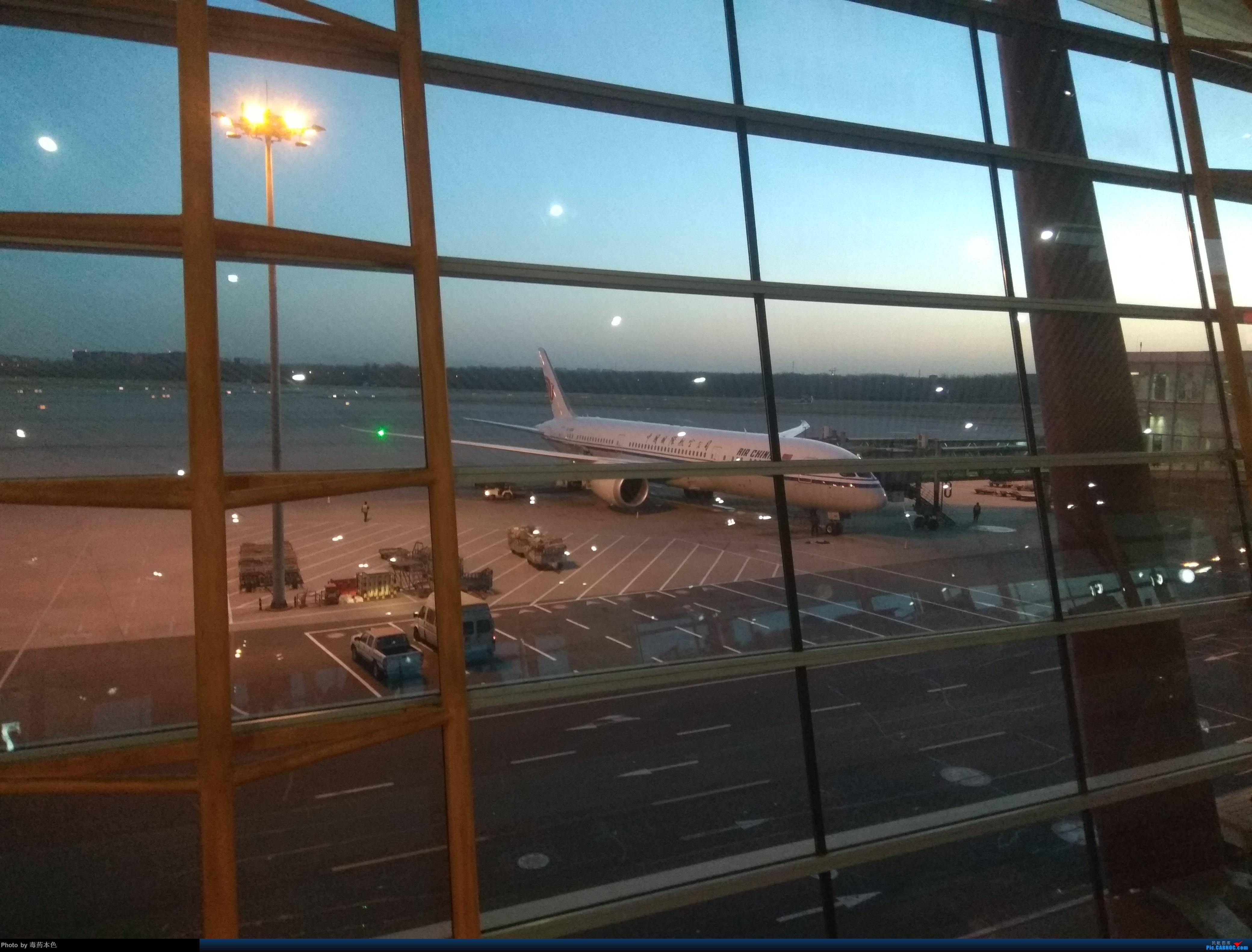 [原创]晨曦中的擦航789、772,夜色下的擦航大鹅头 BOEING 777-200  PEK