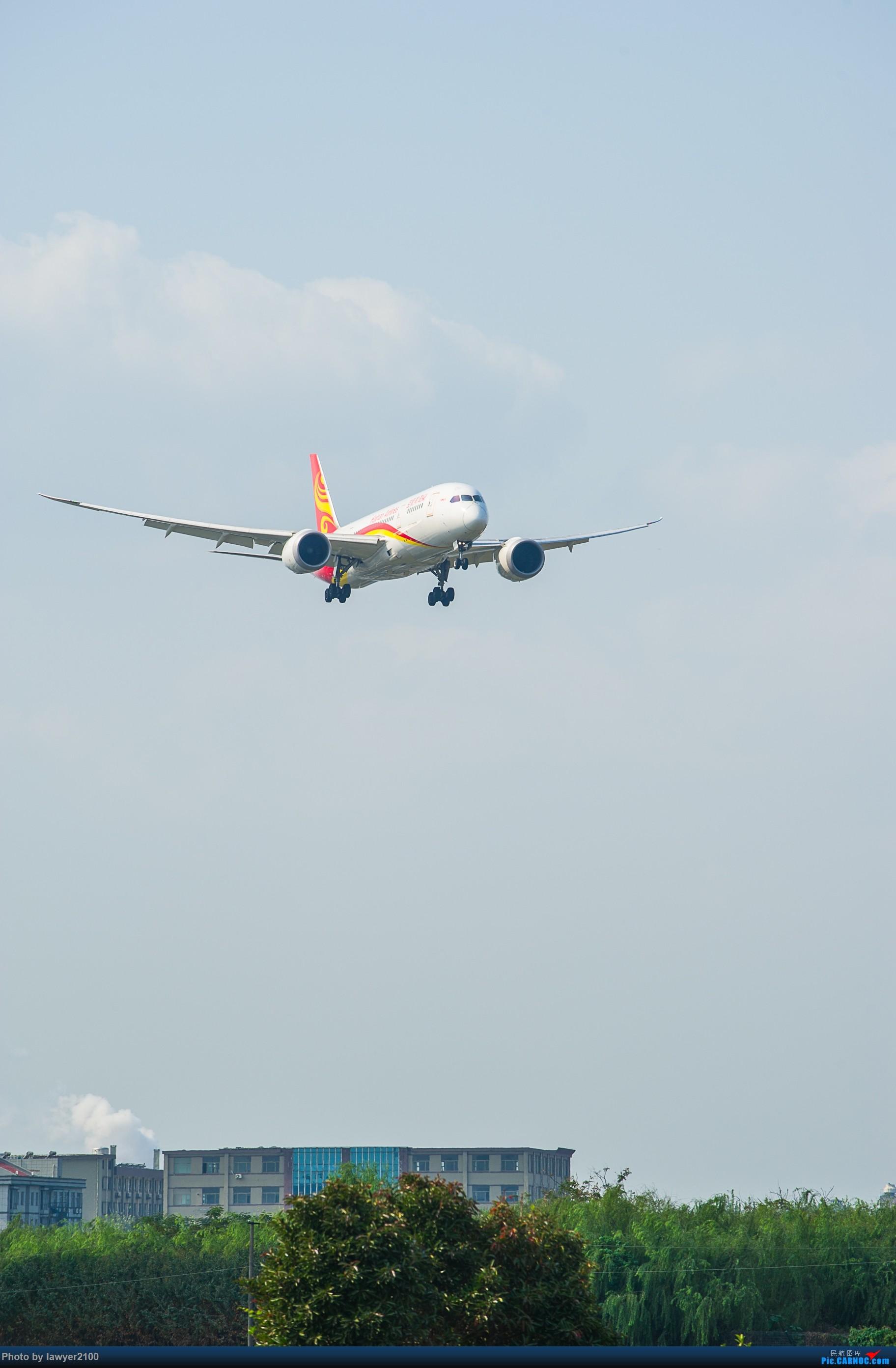 [原创]HGH——红山村头等你来 BOEING 787-8 B-2739 中国杭州萧山国际机场