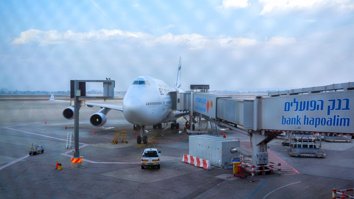 Re: [原创]【 寰球十万八千里 | 中集 | 耶路撒冷 】 BOEING 747-400 4X-ELC 以色列特拉维夫机场