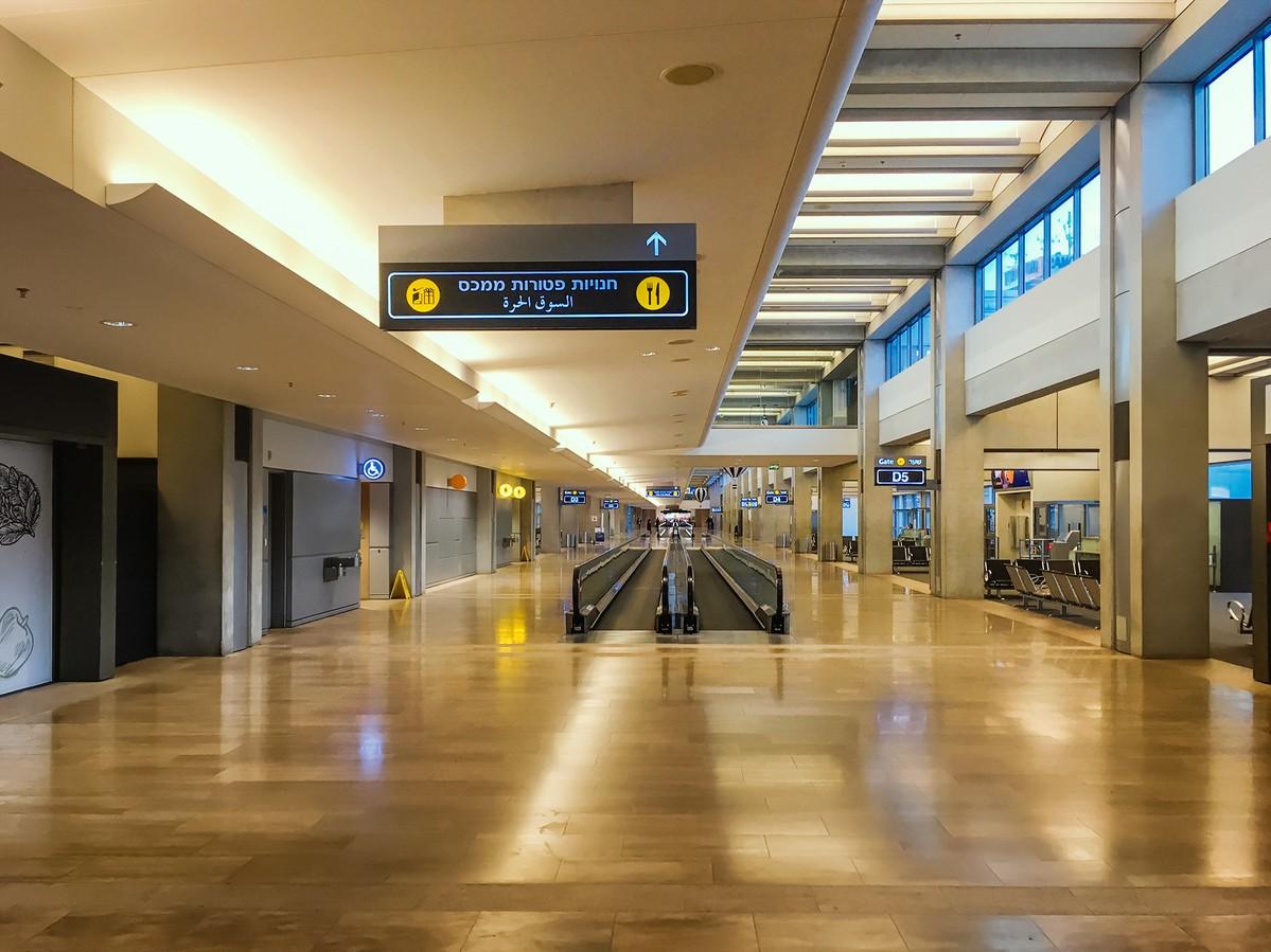 Re: [原创]【 寰球十万八千里 | 中集 | 耶路撒冷 】    以色列特拉维夫机场
