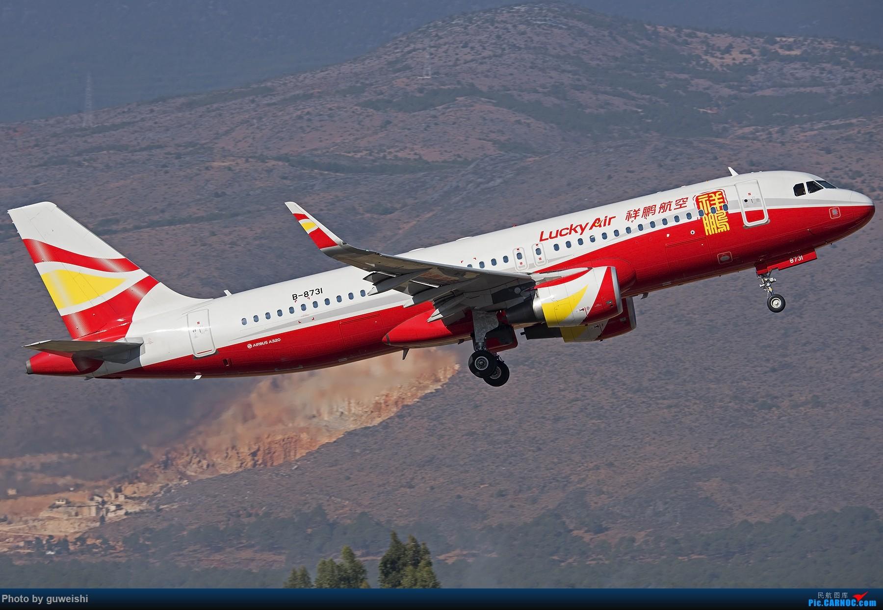 Re:[原创]Re:[原创]【早师傅出品】——丽江起飞真好看 AIRBUS A320-200 B-8731 中国丽江三义机场