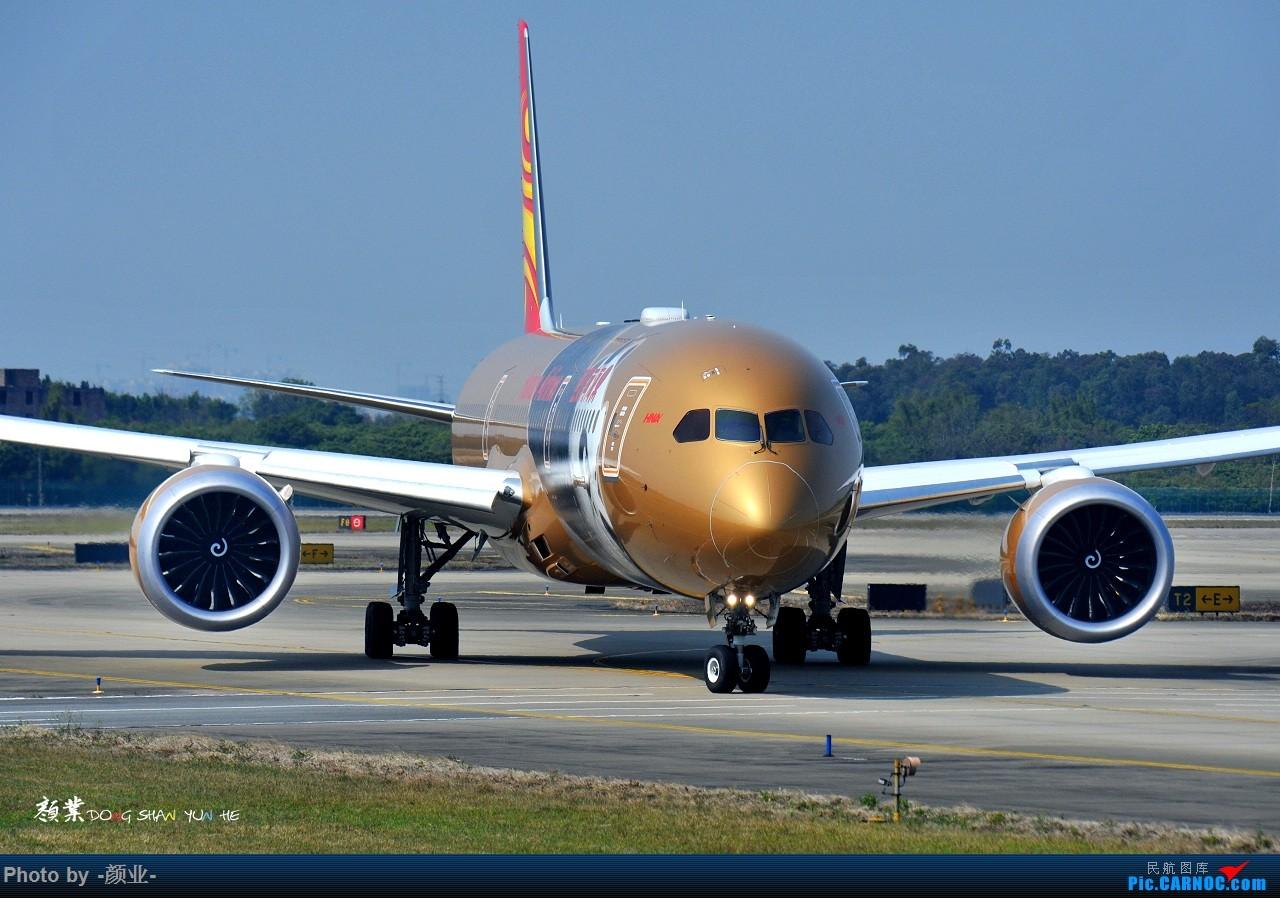 Re:[原创]走近飞机起降点(无尽创意) BOEING 787-9 B-1343 中国广州白云国际机场