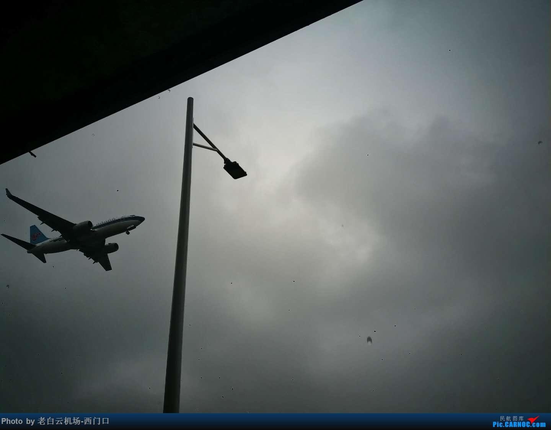 Re:[原创]我的拍飞机心情(广州) BOEING 737-700 不明 中国广州白云国际机场