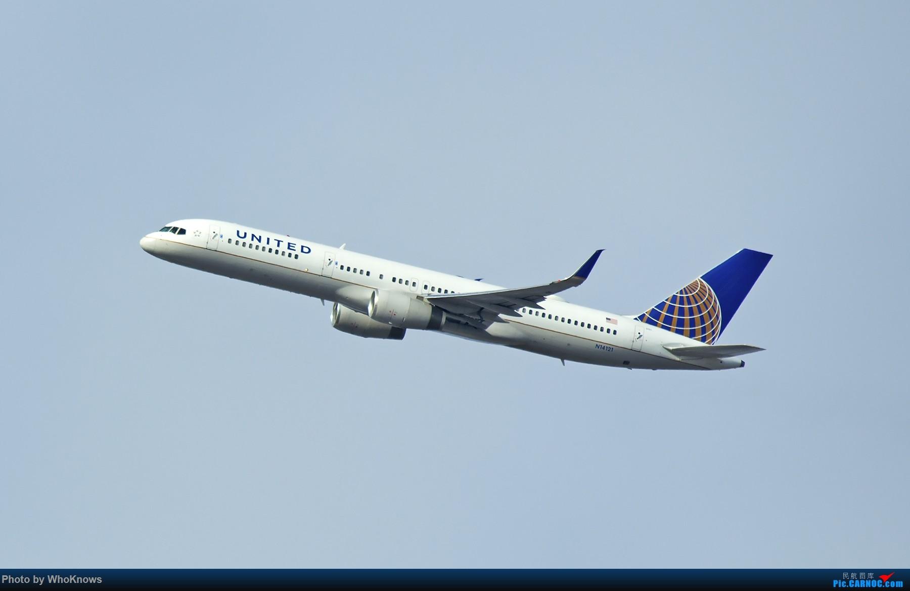 一些小东西 BOEING 757-200 N14121 美国纽瓦克机场