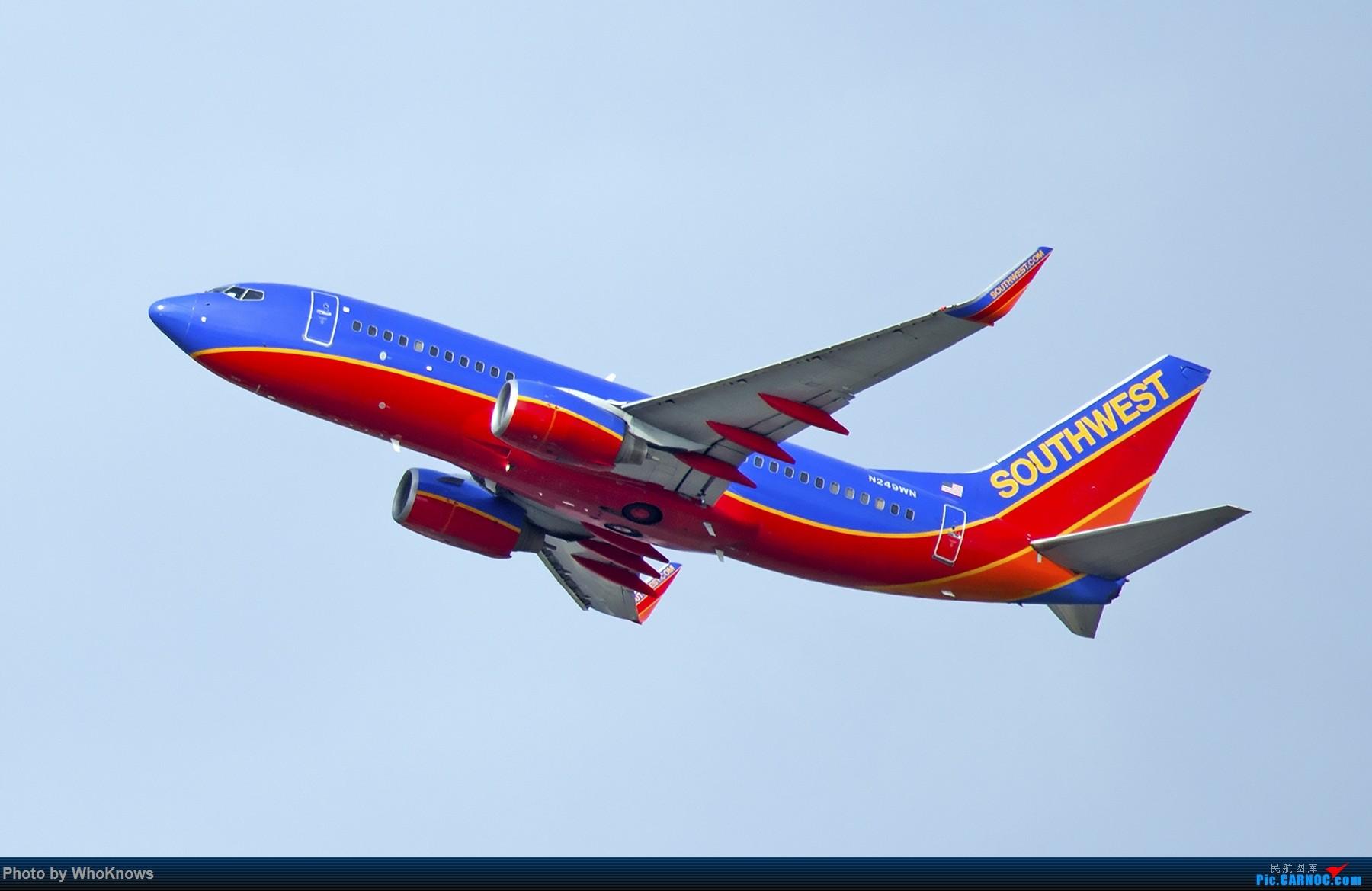 Re:[原创]一些小东西 BOEING 737-700 N249WN 美国纽瓦克机场