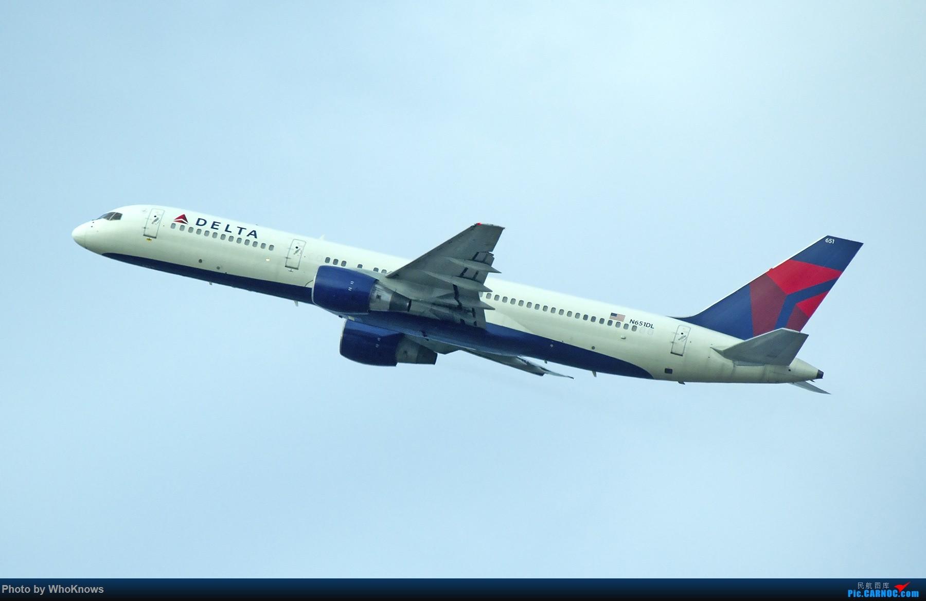 Re:[原创]一些小东西 BOEING 757-200 N651DL 美国纽瓦克机场