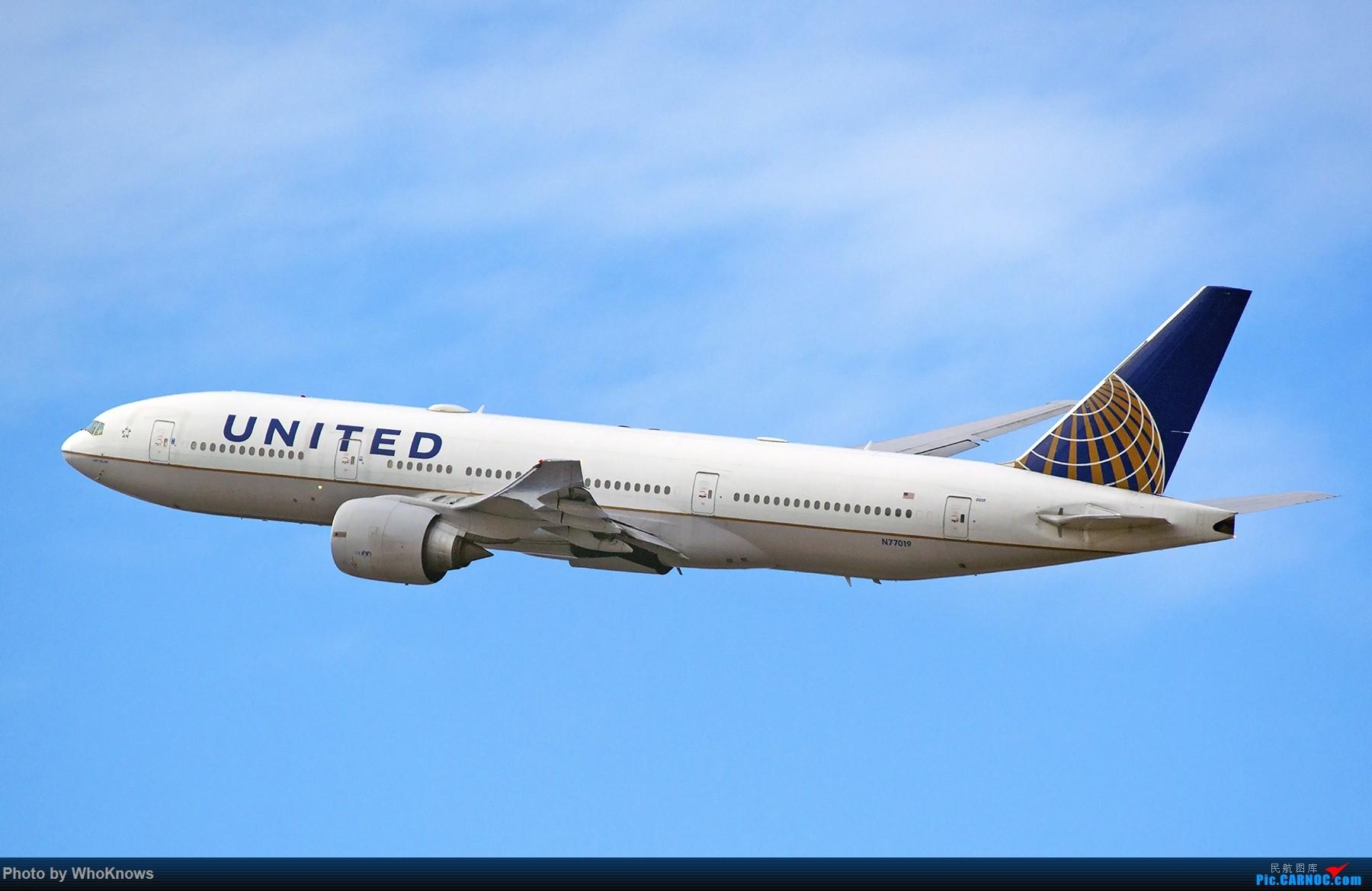 Re:[原创]一些小东西 BOEING 777-200ER N77019 美国纽瓦克机场