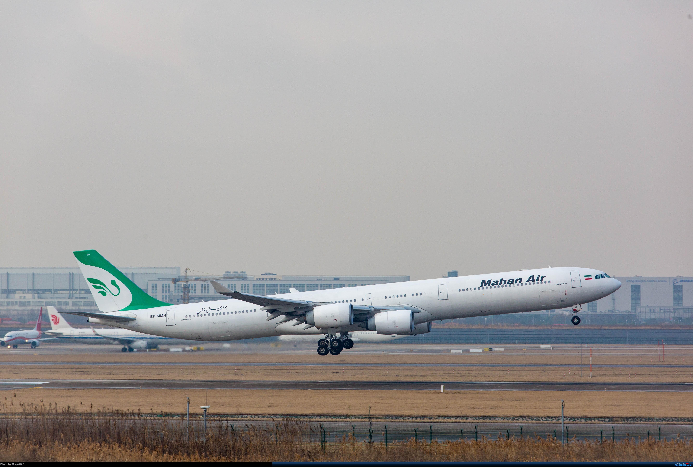 [原创][PVG] 落地 AIRBUS A340-642 EP-MMH 中国上海浦东国际机场