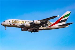 [PEK]阿联酋航空A380-861野生动物园彩绘涂装
