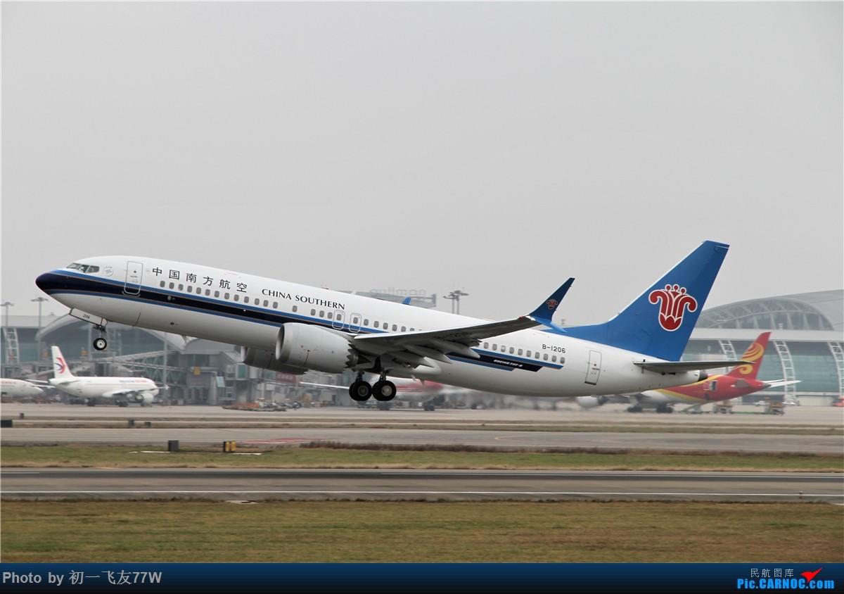 Re:[原创]【多图党】1200X800还是团结村 BOEING 737MAX-8 B-1206