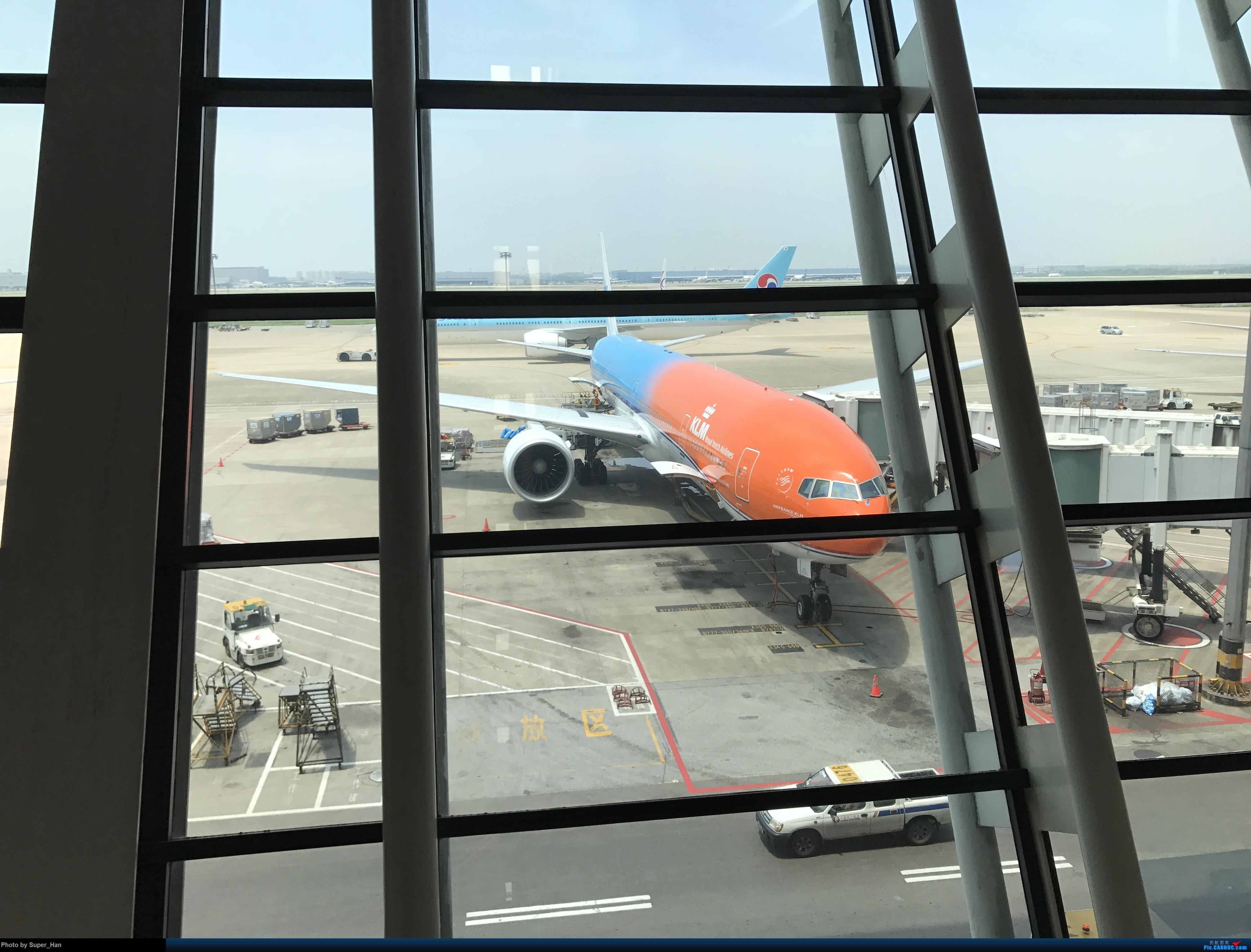 Re:PVG-AMS 第一次走进阿姆斯特丹史基浦机场! BOEING 777-300ER PH-BVA 中国上海浦东国际机场